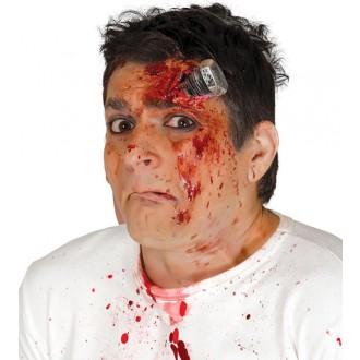 Halloween - Poranenie skrutkou