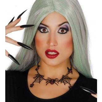 Čarodejnice - Náhrdelník s pavučinami