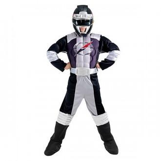 Kostýmy - Power Ranger Black Muscle Chest S - licenčný kostým