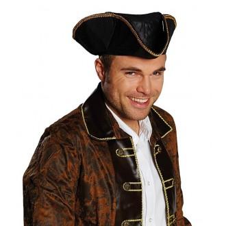 Piráti - Pirátsky klobúk detský imitácia kože