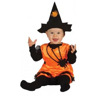 Halloween - Kostým tekvica bejby - 1 - 2 roky