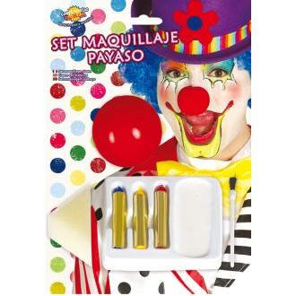 Klauni - Set líčidiel pre klauna