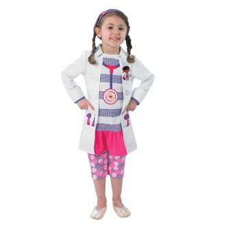 Kostýmy - Doc Mc Stuffin Child - Doktorka Plyšáková