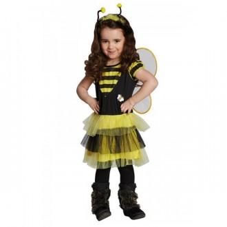 Kostýmy - Včielka - šaty s krídlami