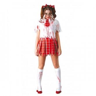 Halloween - Kostým školáčka - ZOMBIE