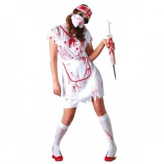 Halloween - Kostým zdravotná sestra - ZOMBIE