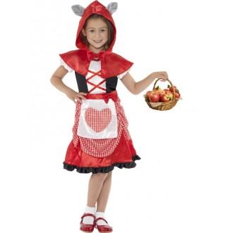 Kostýmy - Detský kostým Červenej Čiapočky