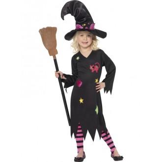 Čarodejnice - Detský čarodejnícky kostým