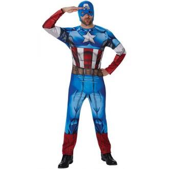 Kostýmy - Captain America Classic pre dospelých