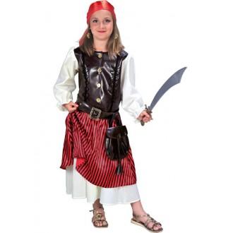 Kostýmy - Deluxe pirate girl - kostým