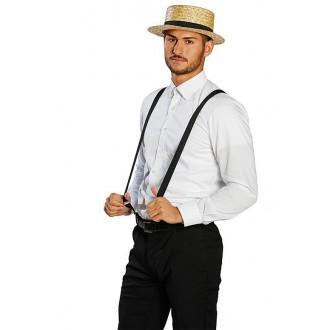 Klobúky - Pánsky slamený klobúk veľ. 59