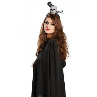 Halloween - Dámsky klobúk - Smrtka na spone