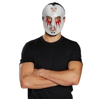Halloween - Hokejová maska zakrvaveniu