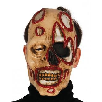 Halloween - Maska zombie so škvrnami