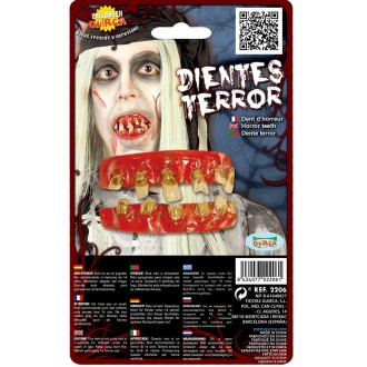 Halloween - Protéza zombie