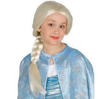 Parochne - Detská parochňa princezná s vrkočom