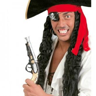 Piráti - Pirátska pištoľ 28 cm