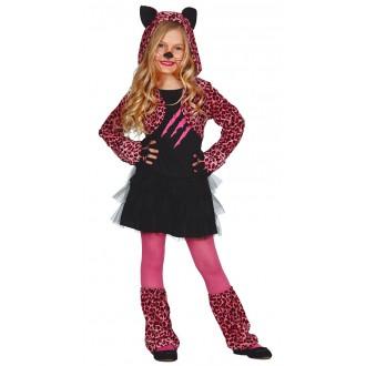 Kostýmy - Kostým leopard pink
