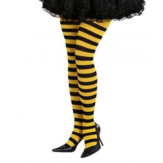 Doplnky - Pančucháče včielka žlto-čierne