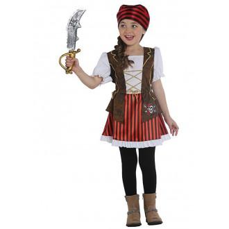 Kostýmy - Piraten Lady - detský kostým