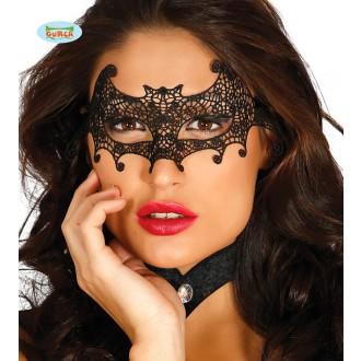 Masky - Škraboška čipka netopier