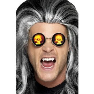 Okuliare - Holografické okuliare s lebkami