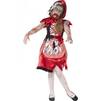 Halloween - Detský kostým zombie Čiapočky