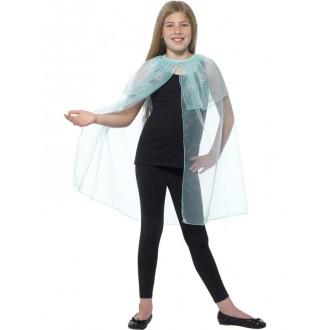 Kostýmy - Detský plášť s vločkami
