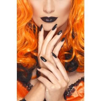 Líčenie a kozmetika - Sada laku na nechty a rúžu - čierna