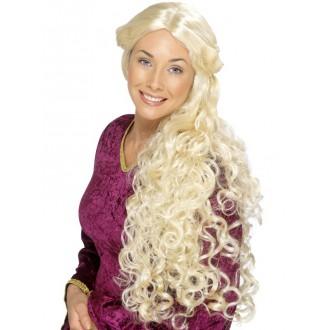 Parochne - Dámska renesančná parochňa - blond