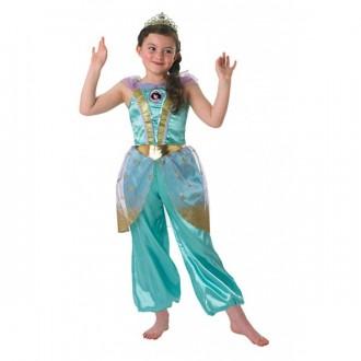 Kostýmy - Kostým Jasmine s diadémom - licenčný kostým