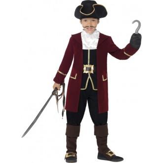 Kostýmy - Detský kostým pirát deluxe