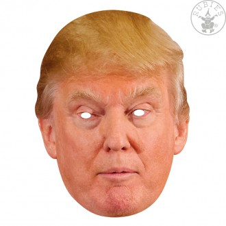 Masky - Donald Trump - kartónová maska pre dospelých