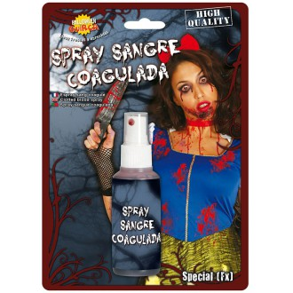 Halloween - Krv v spreji