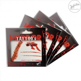 Doplnky - Tetovanie - krvavé rany