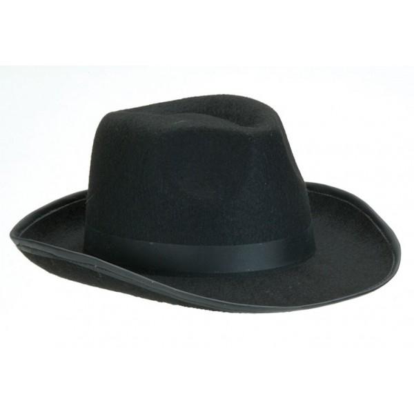 a52ac3583 Pánsky čierny klobúk - Svet-masiek.sk