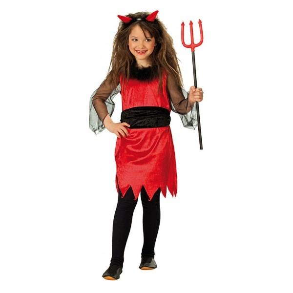 e40aa7568e86 Malá čertica - detský karnevalový kostým - Svet-masiek.sk