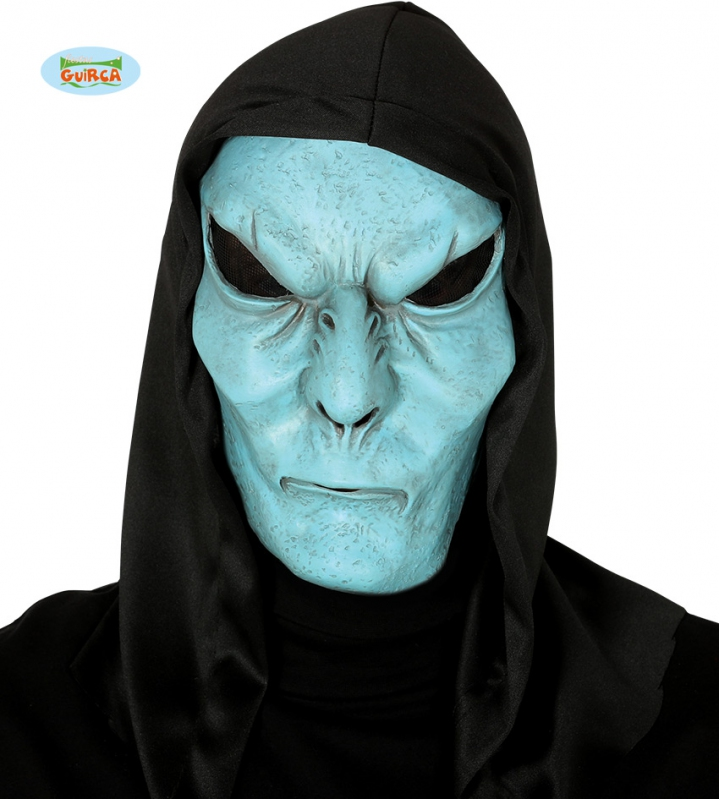 Maska modré monštrum s kapucňou - Svet-masiek.sk f8693748ba