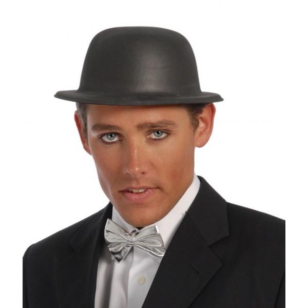 96c32bdc9 Pánsky klobúk čierny - plast - Svet-masiek.sk
