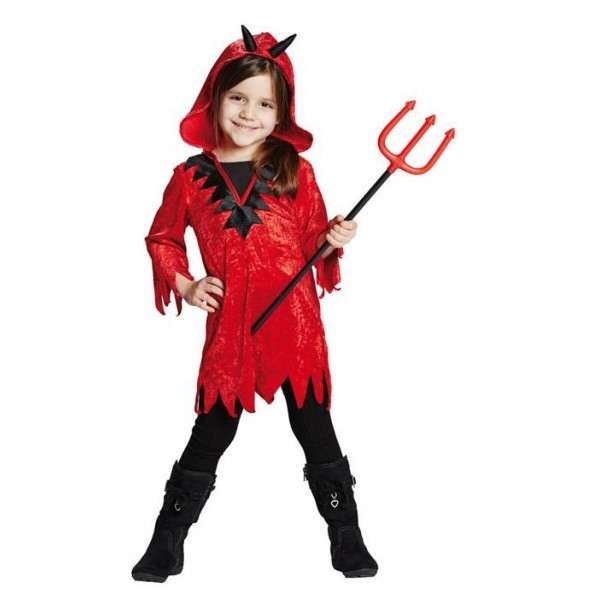 Diablica - detský kostým - Svet-masiek.sk 7be20603322