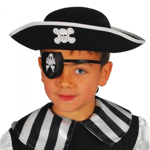 Pirátsky klobúk filcový detský