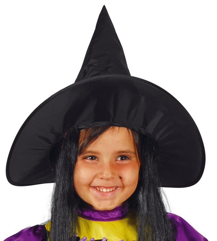 11a4283ec Klobúk čarodejnícky detský s vlasmi - Svet-masiek.sk