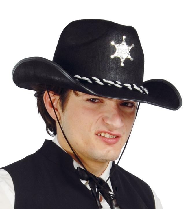 ca83f3a50 Pánsky kovbojský klobúk s hviezdou - Svet-masiek.sk