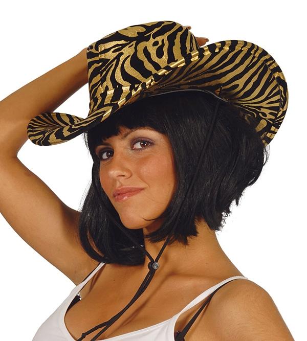 Dámsky klobúk s tigrím motívom - Svet-masiek.sk b7544ffd18