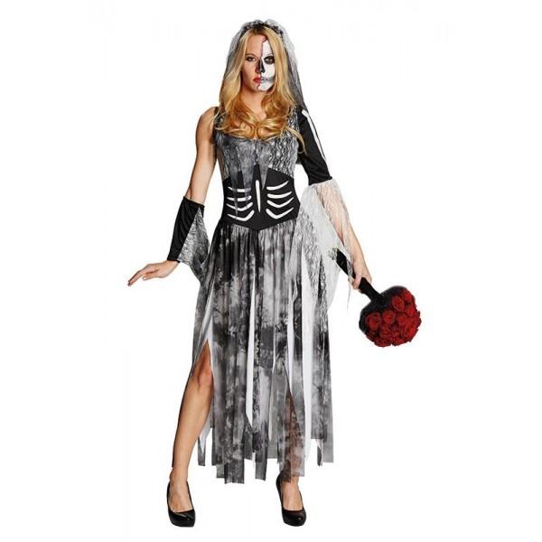 Zombie nevesta - dámsky kostým - Svet-masiek.sk 50d880fa492