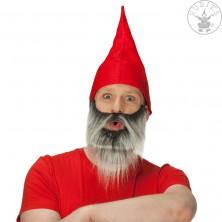 Trpaslík čiapka červená