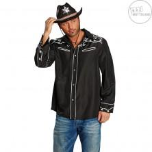 Kovbojský klobúk TEXAS čierny