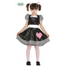 Zlá bábika - detský kostým