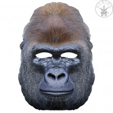 Gorila - kartónová maska pre dospelých