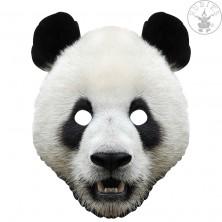 Panda - kartónová maska pre dospelých